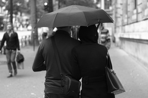 Shared Umbrella