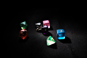 Shiny dice